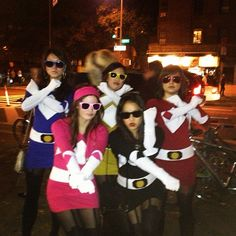 Power Rangers: A super creative and easy group Halloween costume you can make at home.