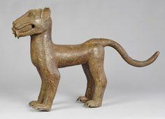 Superbe Bronze animalier Léopard BENIN Kingdom lost wax African arts premiers | eBay