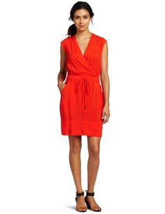 Kenneth Cole Petite Smocked Waist Pullover Dress