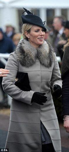 Zara Phillips at Last Day of Cheltenham | Royal Hats