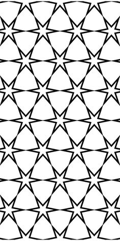 Find Seamless Black White Hexagonal Vector Star stock images in HD and millions of other royalty-free stock photos, illustrations and vectors in the Shutterstock collection. Star Patterns, White Patterns, Textures Patterns, Vector Pattern, Pattern Art, Pattern Design, Black White Pattern, Black And White, Islamic Patterns