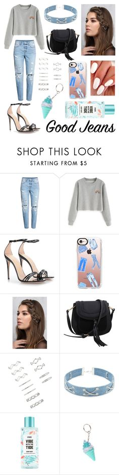 """""""Good Jeans👖✨👊🏻"""" by ginardlcm23 ❤ liked on Polyvore featuring Gucci, Casetify, Rare London, MKF Collection, Forever 21 and claire's"""