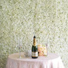 Flower Wall Backdrop, Wall Backdrops, Flower Wall Decor, Wedding Backdrops, Wedding Ideas, Diy Wedding, Flower Room, White Backdrop, Indoor Wedding