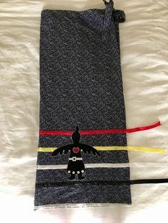 Ribbon Skirt Wrap Style ThunderBird Woman by Alec Strigen