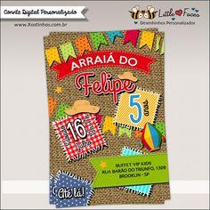 Convite Festa Junina Digital
