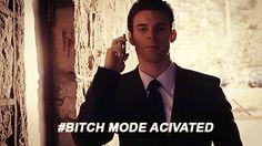 Elijah Mikaelson aha love him (: