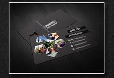 cool photography business cards templates - Google Search