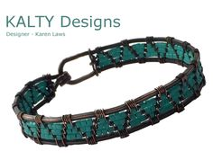 Unique bangle designed and created by Karen for KALTY Designs collection