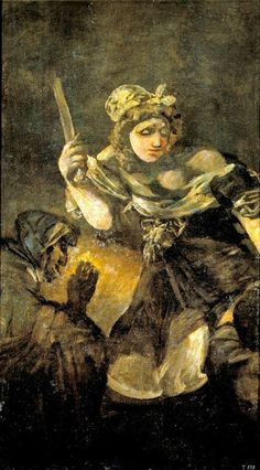 NUDITY AND BIBLE: Judith and Holofernes by Francisco de Goya