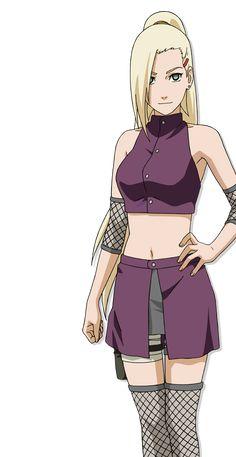 Ino Yamanaka [Naruto Online] by AiKawaiiChan on DeviantArt Naruto Shippuden Ino, Naruto Shippuden Characters, Naruto And Sasuke, Anime Naruto, Girls Characters, Anime Characters, Naruto Mobile, Inojin, Fanart