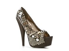 I think I need these for Vegas...just wish they weren't peep toe