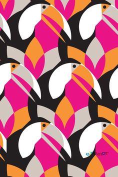 Eleanor Design and Illustration Motifs Textiles, Textile Patterns, Textile Prints, Print Patterns, Geometric Patterns, Art And Illustration, Pattern Illustration, Illustrations, Surface Pattern Design