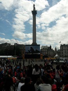 Tour de France Fanpark, Trafalgar Square, July 2014