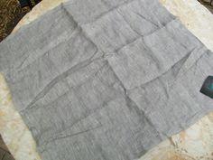 Villa Home Collection Herringbone Charcoal Euro Sham Nwt European - Pillow Shams