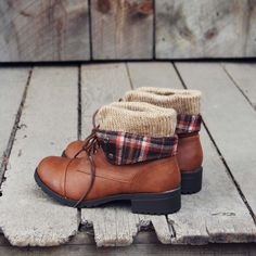 Fall Legend Booties, Cozy Fall & Winter Booties from Spool No.72 | Spool No.72