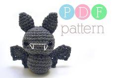 Amigurumi Bat  Crochet PDF Pattern by BubblegumBelles on Etsy
