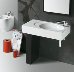 Bohemien di @ceramicasimas  scegli linee eleganti ed originali, per #arredare il tuo #bagno - www.gasparinionline.it - #interiordesignideas #bagnoarredo #design #madeinitaly #lavabo