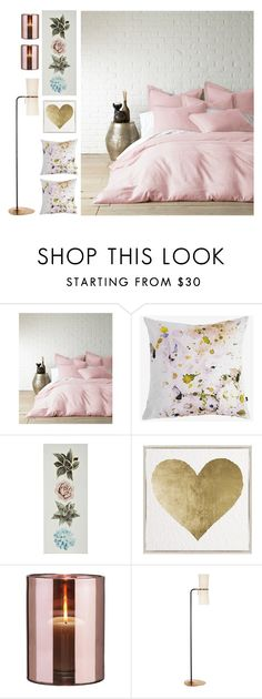 """Forever And Ever"" by loveartrecyclekardstock ❤ liked on Polyvore featuring interior, interiors, interior design, home, home decor, interior decorating, Levtex, Amy Sia, Oliver Gal Artist Co. and Skogsberg & Smart"
