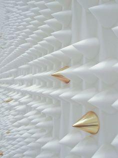 Phillip Lim flagship store by Leong Leong, Seoul store design Phillip Lim, Motifs Textiles, Retail Design, Store Design, Textures Patterns, Wall Design, Bunt, Decoration, Design Inspiration