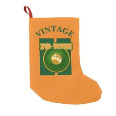 78 RPM Record Vintage Green & Orange #78record #vinylrecord #christmas   http://www.zazzle.com/teeshirtsplenty?rf=238806092629186307