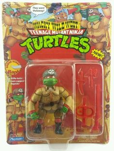 Vintage☆ sewer scout raph raphael teenage #mutant #ninja turtles #action figure,  View more on the LINK: http://www.zeppy.io/product/gb/2/272386445522/