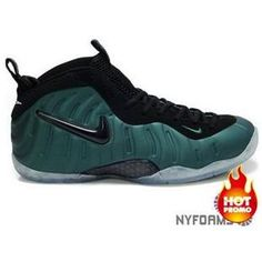 4a9c6a725a1 Nike Air Foamposite Pro Green Black Nike Basketball Shoes