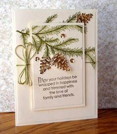 Simply click the link for more Handmade Christmas Cards Christmas Cards 2018, Homemade Christmas Cards, Xmas Cards, Handmade Christmas, Homemade Cards, Holiday Cards, Stampinup Christmas Cards, Stamped Christmas Cards, Christmas Tree