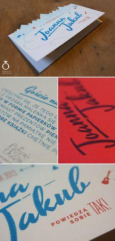 Joanna & Jakub mountains and scout inspired invitation, alternative version / Designed by Calym Sercem