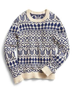 A fair isle sweater is a December essential, even if it's 34 degrees celsius out.
