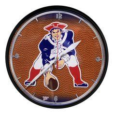 New England Patriots - Vintage Logo Clock