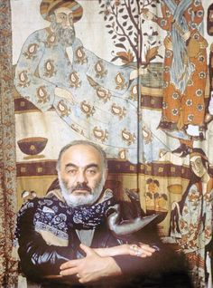 Sergei Parajanov (9 January 1924 - 20 July 1990) born Sarkis Parajaniants to Armenian parents in Tbilisi, Georgia.