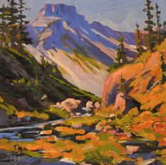 Online Gallery of Artist Robin Weiss, Plein Air Painter of the Northwest, Seattle, Portland, Vancouver