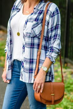 Accessorize your casual fall outfit with this affordable BP. Faux Leather Saddle Crossbody Bag from Nordstrom!