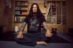 Kazuaki Horitomo Kitamura, tattoo artist.