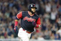 CLEVELAND INDIANS — CARLOS SANTANA, FIRST BASE:     Each MLB team's most important free agent  -  November 21, 2017.   Santana has been a central figure for Cleveland for the better part of the last decade, a key figure in their rise from a bottom-feeding team to one of the American League's leading contenders. While he never turned out to be a high average hitter and had to be moved off catcher, he's still good for around 25 home runs...  MORE...