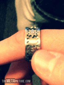 A ring for those who like to fidget…