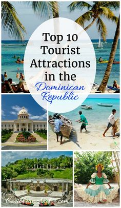 The Dominican Republic is the most popular Caribbean travel destination with over 4.6+million people visiting each year. Check out our list of the 10 top attractions luring visitors to the Dominican Republic.