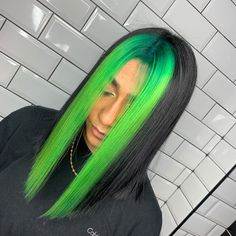 Green Wigs Lace Frontal Baby Spice Wig Best Wig Caps For Lace Wigs Gre – masicoco Short Wedding Hair, Wedding Hairstyles For Long Hair, Bridal Hairstyles, Indian Hairstyles, Male Hairstyles, Hair Dye Colors, Cool Hair Color, Green Hair Streaks, Trends 2016