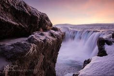 Hidden Godafoss by Crowe. Please Like http://fb.me/go4photos and Follow @go4fotos Thank You. :-)