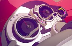 MTV Motor Home: Animation by Cristian Acquaro | Inspiration Grid | Design Inspiration