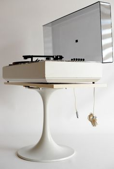 70s VTG WHITE WEGA 3207 HIFI DUAL DESIGN TURNTABLE RECORD PLAYER COLANI PANTON   eBay