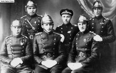 Jewish firefighters in Plunge