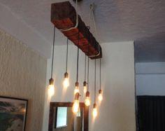 Belle pipe et la poulie murale avec suspension abat-jour métal.  Disponible dans n'importe quelle couleur et la finition.  Photo par: Joanie Desmarais de Design Sueno