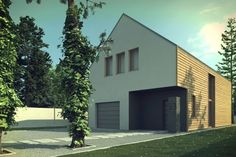 Compact passive house