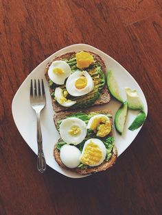 Gott mellanmål med ägg