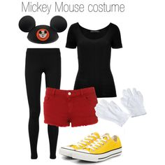 Mickey Mouse Halloween Costume - Polyvore