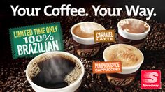 Now through October, you can enter each day for a chance to win Free Coffee For a Year! Just visit Speedway's Facebook tab to learn more! Good Luck :)