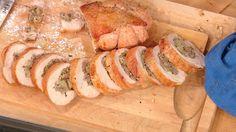 Mario Batali's Oven-Roasted, Porchetta-Style Turkey Breast #Thanksgiving #turkey #porchetta