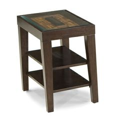 Kashi 24-inch Chair-Side Table