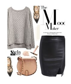 """""""Black skirt"""" by merima-kopic ❤ liked on Polyvore featuring Valentino, Rebecca Minkoff, By Terry and shein"""